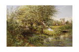 The Trysting Place Giclee Print by Charles James Lewis