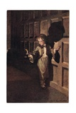 A Child by Candlelight, from 'A Child's Garden of Verses' by Robert Louis Stevenson, Published 1885 Giclee Print by Jessie Willcox-Smith