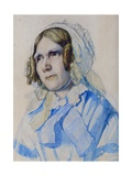 Mrs Beaumont, 1855 Giclee Print by Solomon Alexander Hart