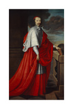 Portrait of Cardinal Mazarin, after 1650 Giclee Print by Philippe De Champaigne