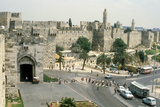 View of the Jaffa Gate Photographic Print