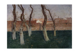 The Walled Garden, 1893 Giclee Print by Fritz Thaulow