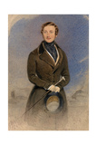 Portrait of Prince Albert Giclee Print by William Drummond