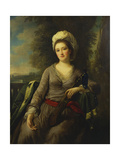 Portrait of a Lady, Thought to Be Mrs Wells Giclee Print by Nathaniel Dance-Holland