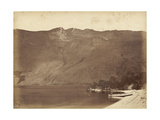 Fools Cap Peak, Wanaka, Mid 1870s Giclee Print by Herbert Deveril