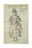 Camilla, C.1609 Giclee Print by Inigo Jones
