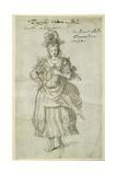 Camilla, C.1609 Giclee Print by Inigo Jones