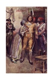 Lucy Bids Farewell to Sydney Carton, Fontispiece from 'A Tale of Two Cities' by Charles Dickens Giclee Print by Max Cowper