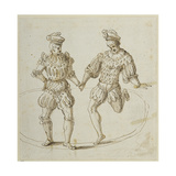 Welsh Dancers Giclee Print by Inigo Jones