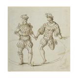 Welsh Dancers Giclee Print by Inigo Jones