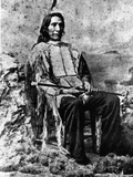 Chief Red Cloud at Age 72, C.1893 Photographic Print by Charles Milton Bell