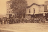Cavalry Unit, Colorado Springs, 1880s Photographic Print by C. L. Gillingham