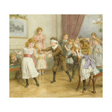 Blind Man's Buff Giclee Print by George Goodwin Kilburne