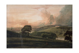 Harewood House from the South East Giclee Print by Thomas Girtin
