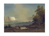 Niagara Falls, 1863 Giclee Print by Albert Bierstadt