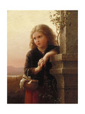 The Peasant Girl, 1875 Giclee Print by Johann Georg Meyer von Bremen