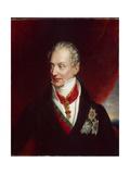Portrait of Klemens Wenzel, Prince Von Metternich, Between 1850-1900 Giclee Print by Josef Danhauser