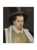 Portrait of James Vi, 1595 Giclée-Druck von Adrian Vanson
