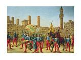 The Palio Di Siena Wydruk giclee
