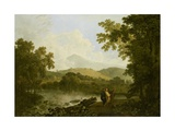 Cicero and His Friends, Atticus and Quintus, at His Villa at Arpinum, 18th Century Giclee Print by Richard Wilson