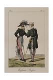 Russian Uniforms Giclée-Druck von Antoine Charles Horace Vernet