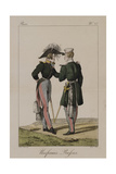 Russian Uniforms Giclee Print by Antoine Charles Horace Vernet