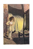 A Young Girl Undressing, from 'A Child's Garden of Verses' by Robert Louis Stevenson, Published… Giclee Print by Jessie Willcox-Smith