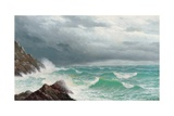 Fistral Bay, Cornwall, 1885 Giclee Print by David James