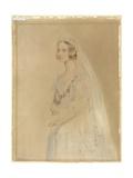 Portrait of Queen Victoria Giclee Print by William Drummond