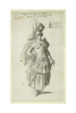 Penthesilea, C.1609 Giclee Print by Inigo Jones