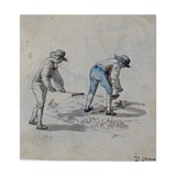 Gardeners, C.1790 Giclee Print by Daniel Orme