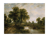 Dedham Vale, Suffolk Giclee Print by Frederick Waters Watts