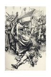 Madame Therese Defarge, from 'A Tale of Two Cities' by Charles Dickens Giclee Print by Max Cowper