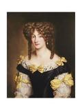 Portrait of Hortense Mancini Giclee Print by Jacob Ferdinand Voet