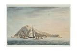 Island of Mehetia, Near Tahiti, Society Islands, 1792 Giclee Print by Captain George Tobin