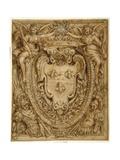 Arms of Don Taddeo Barberini, Principe Di Palestrina Giclee Print by Pietro Da Cortona