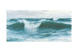 Crashing Waves, 1892 Giclee Print by David James
