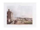 The Crescent, from 'Bath Illustrated by a Series of Views', 1806 Giclee Print by John Claude Nattes