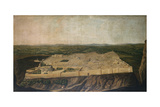 A Panoramic View of Jerusalem Giclee Print by Jean Baptiste Vanmour