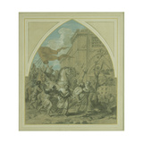 Capture of Martyrs Giclee Print by Erasmus Quellinus