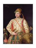 Portrait of a Gentleman in Royal Mogul Costume, 1738 Giclee Print by George Knapton