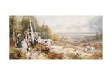 The Meet Giclee Print by Myles Birket Foster
