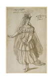 Queen Artemisia, C.1609 Giclee Print by Inigo Jones