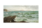Where Land Meets Sea, 1885 Giclee Print by David James