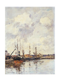 The Basin, 1891 Giclee Print by Eugene Louis Boudin
