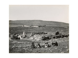 Khan Al-Jujjar (Hanot Taggarim) Galilee, 1850s Giclee Print by Mendel John Diness