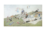 An Enchanted Picnic, 1882 Giclee Print by Charles Altamont Doyle