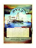 Sylt', Poster Advertising the Sylt Steamship Company, 1899 Giclee Print by German School