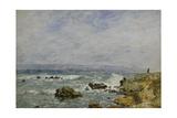 La Pointe De L'Ilette, Antibes, 1893 Giclee Print by Eugene Louis Boudin
