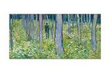 Vincent van Gogh - Undergrowth with Two Figures, 1890 Digitálně vytištěná reprodukce